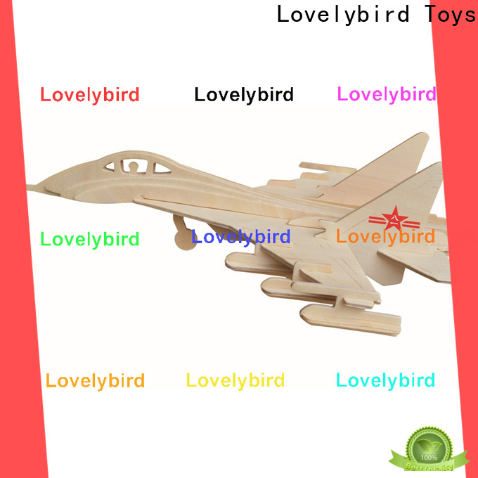Lovelybird Toys 3d puzzle military factory for entertainment