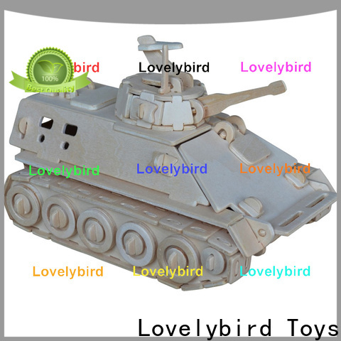 Lovelybird Toys 3d puzzle military suppliers for sale