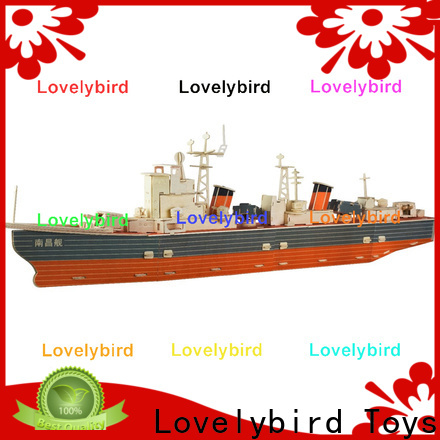 Lovelybird Toys new 3d puzzle military manufacturers for sale