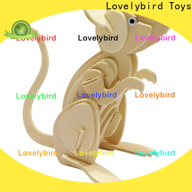 top 3d wooden puzzle animals supply for sale