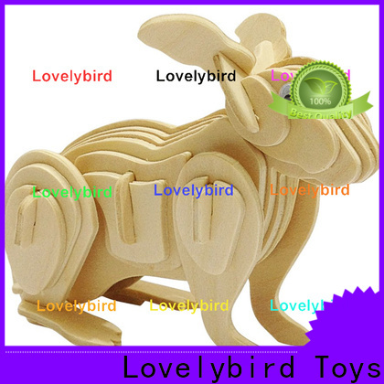 Lovelybird Toys 3d wooden animal puzzle company for sale