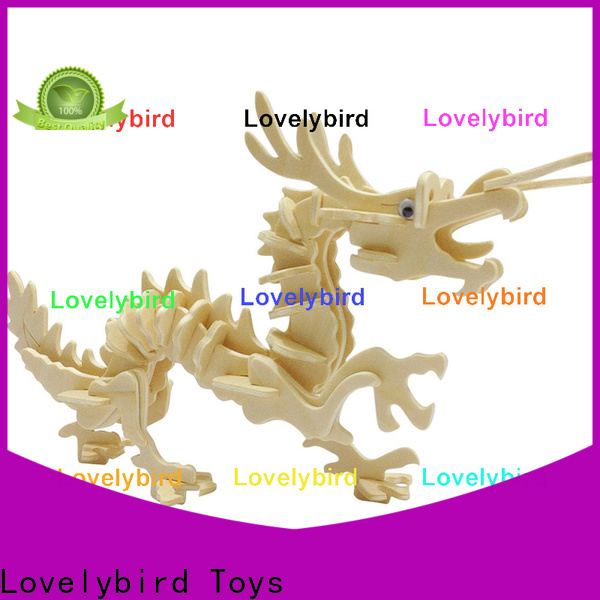 Lovelybird Toys custom 3d wooden puzzle animals company for adults