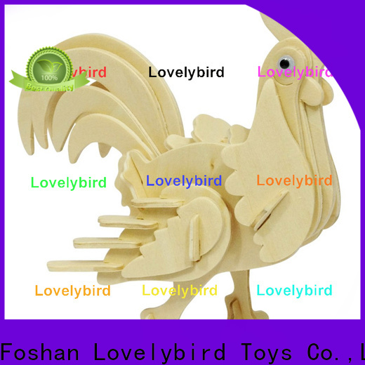 wholesale 3d wooden animal puzzle suppliers for business