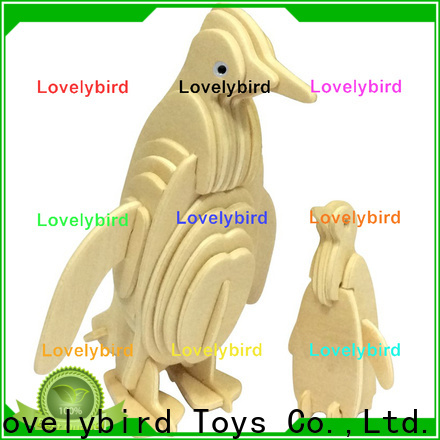 Lovelybird Toys top 3d wooden puzzle animals company for business