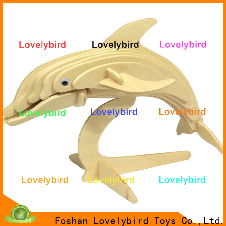 Lovelybird Toys high-quality wooden 3d animal puzzles factory for business