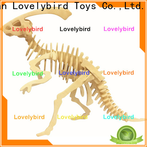 Lovelybird Toys high-quality 3d wooden animal puzzle suppliers for adults