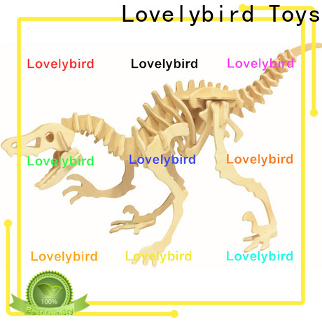 Lovelybird Toys wholesale 3d wooden puzzle animals suppliers for adults