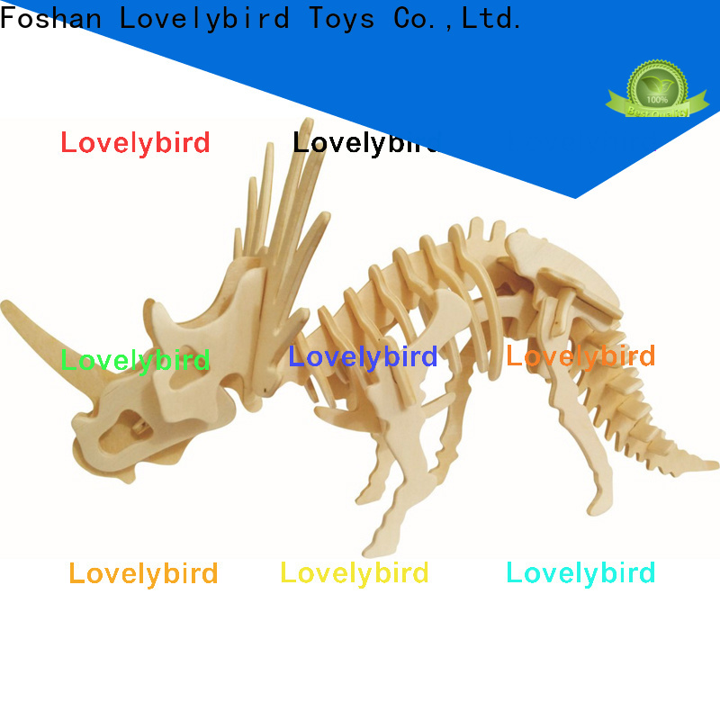 new 3d wooden puzzle animals suppliers for kids