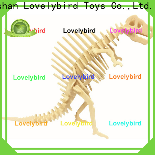 Lovelybird Toys 3d wooden animal puzzle suppliers for adults