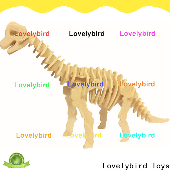 Lovelybird Toys 3d wooden puzzle animals manufacturers for entertainment