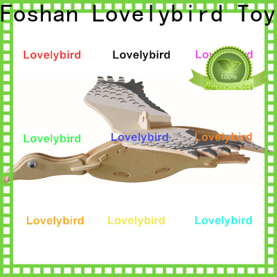 Lovelybird Toys custom 3d wooden animal puzzle supply for present