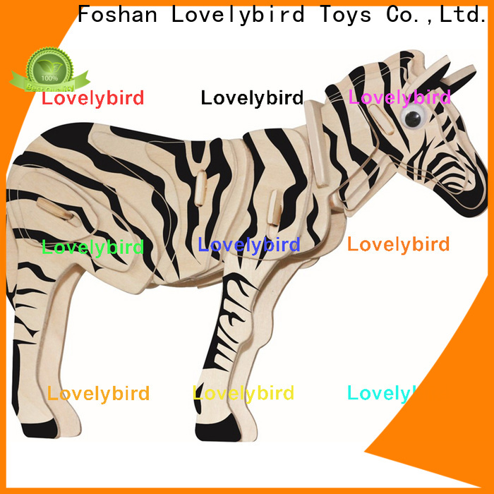 best 3d wooden puzzle animals supply for kids