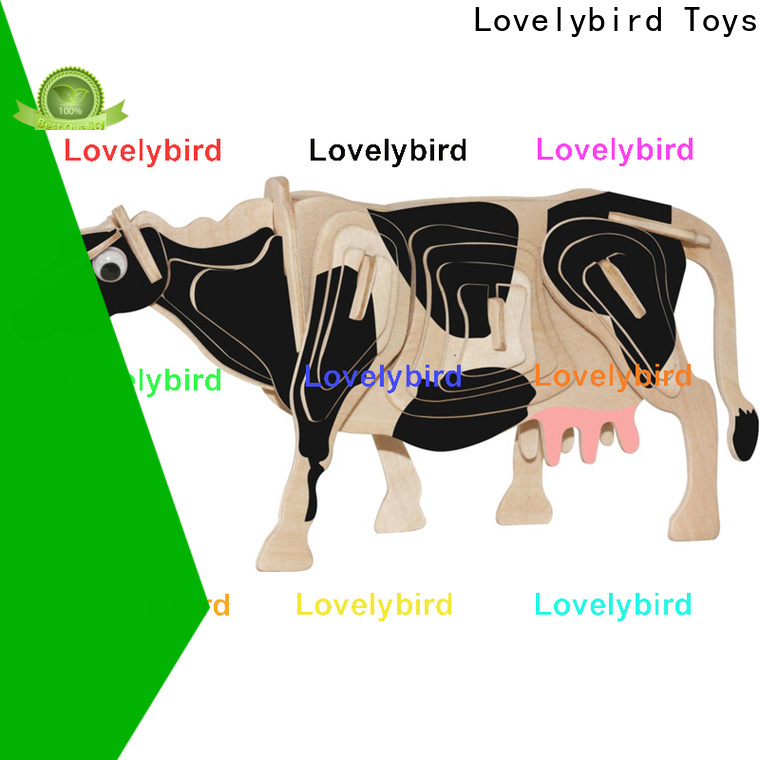 high-quality 3d wooden puzzle animals factory for business