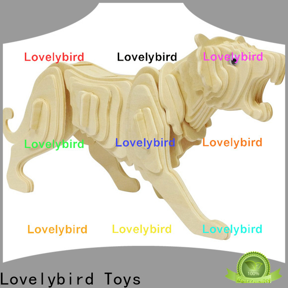 Lovelybird Toys 3d wooden animal puzzle factory for business