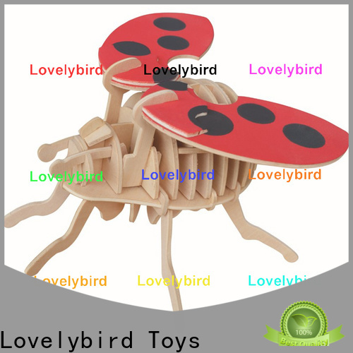 wholesale wooden 3d animal puzzles supply for sale
