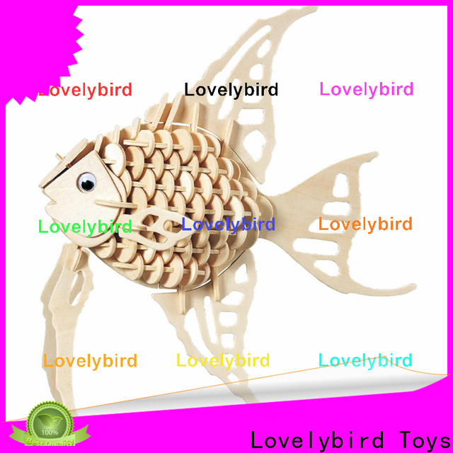 Lovelybird Toys custom 3d wooden puzzle animals suppliers for adults