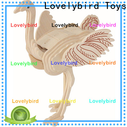 Lovelybird Toys wooden 3d animal puzzles manufacturers for adults