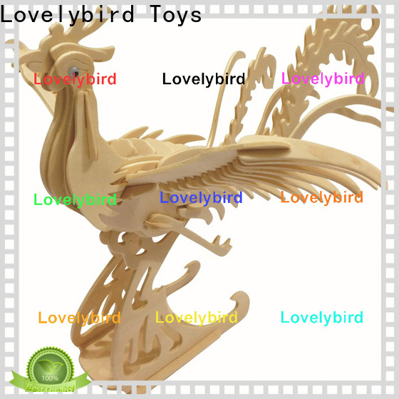 custom wooden 3d animal puzzles manufacturers for present