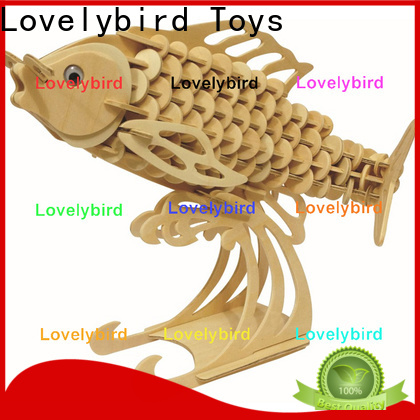 Lovelybird Toys latest wooden 3d animal puzzles suppliers for sale