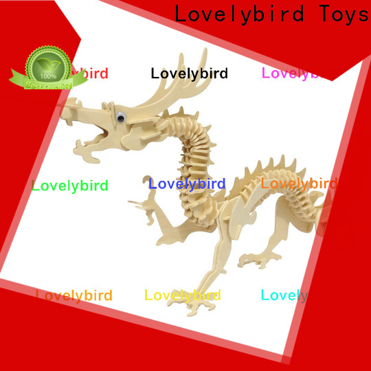Lovelybird Toys top 3d wooden animal puzzle suppliers for business