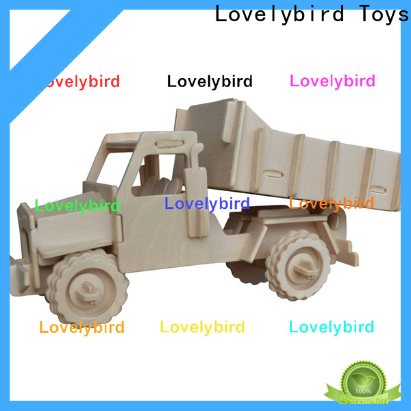 Lovelybird Toys 3d puzzle truck company for business