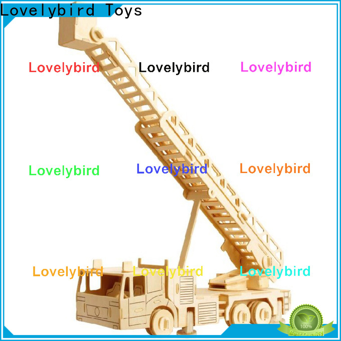 Lovelybird Toys top 3d truck puzzle company for present