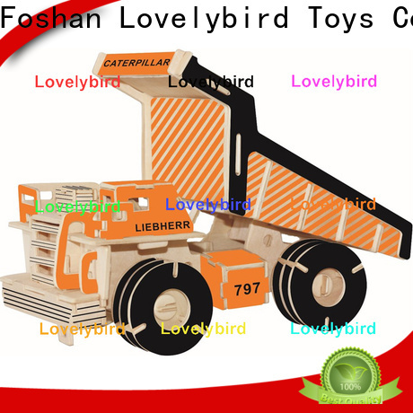 Lovelybird Toys 3d truck puzzle suppliers for present