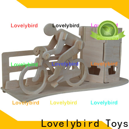 best 3d wooden puzzle dollhouse furniture suppliers for sale