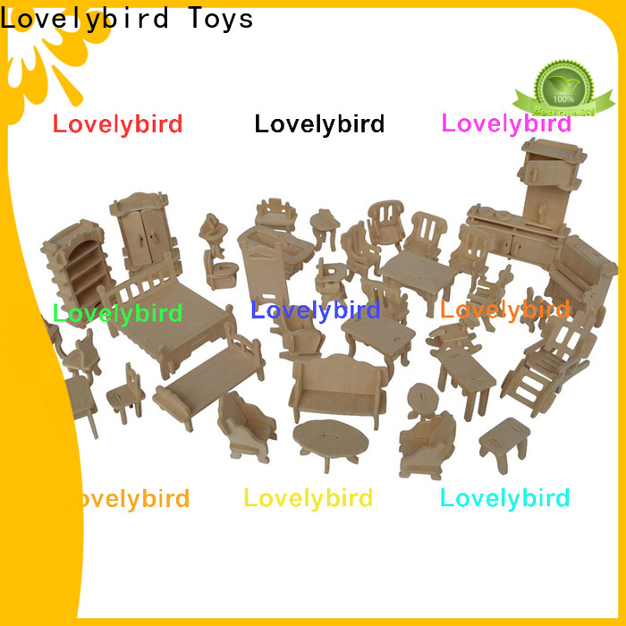 Lovelybird Toys 3d puzzle furniture manufacturers for sale