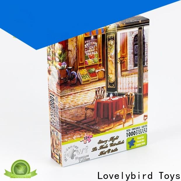 Lovelybird Toys high-quality 1000 jigsaw puzzles company for sale