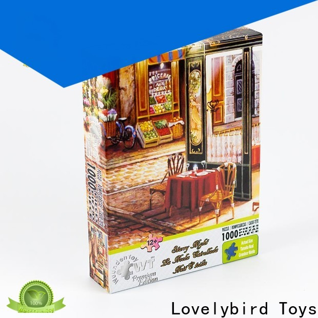 Lovelybird Toys high-quality 1000 jigsaw puzzles company for sale