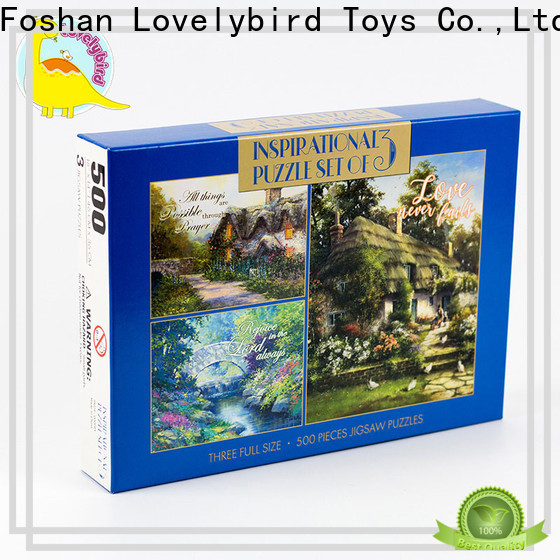 Lovelybird Toys paper jigsaw puzzles gratuits maker for entertainment