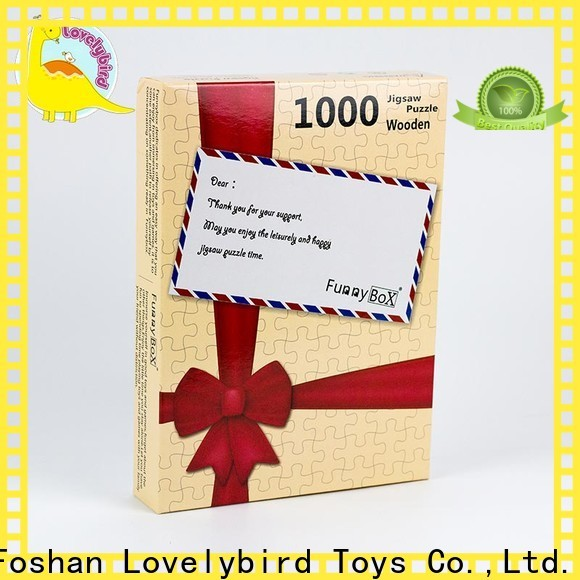 Lovelybird Toys new 1000 jigsaw puzzles factory for sale
