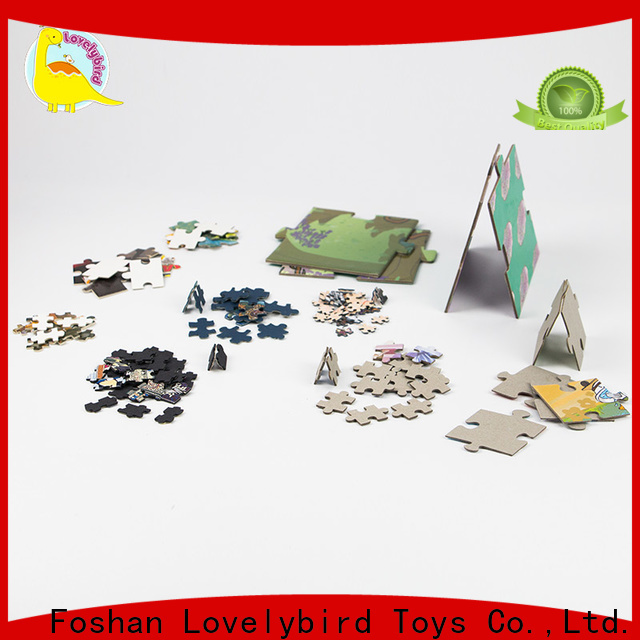 latest paper puzzle educational gift for kids