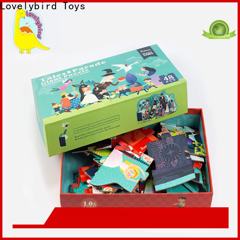 Lovelybird Toys wholesale amazing jigsaw puzzles manufacturers for kids