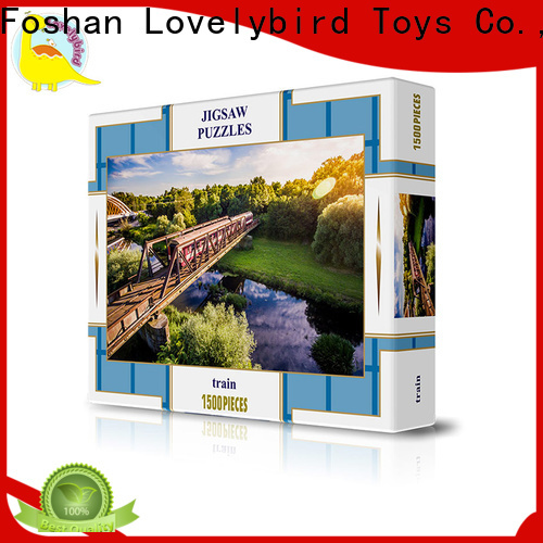 Lovelybird Toys wholesale puzzle 1500 supply for entertainment