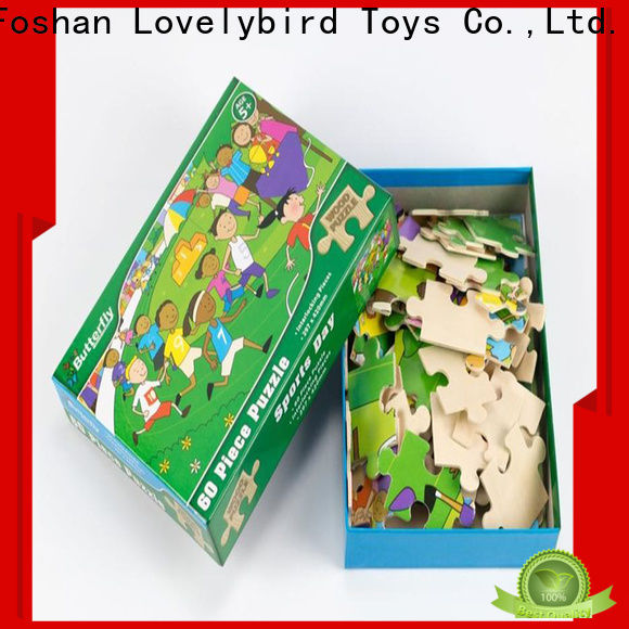 lovely wooden jigsaw puzzles for adults with frame for entertainment