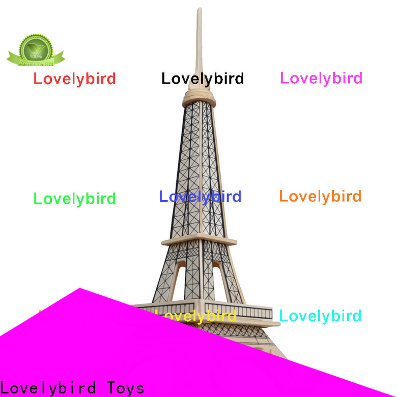 Lovelybird Toys 3d wooden puzzle house company for business