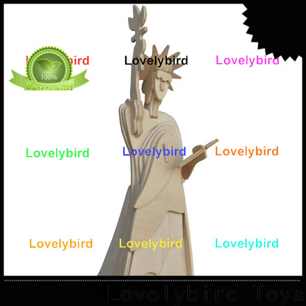 Lovelybird Toys high-quality 3d wooden house puzzles suppliers for present