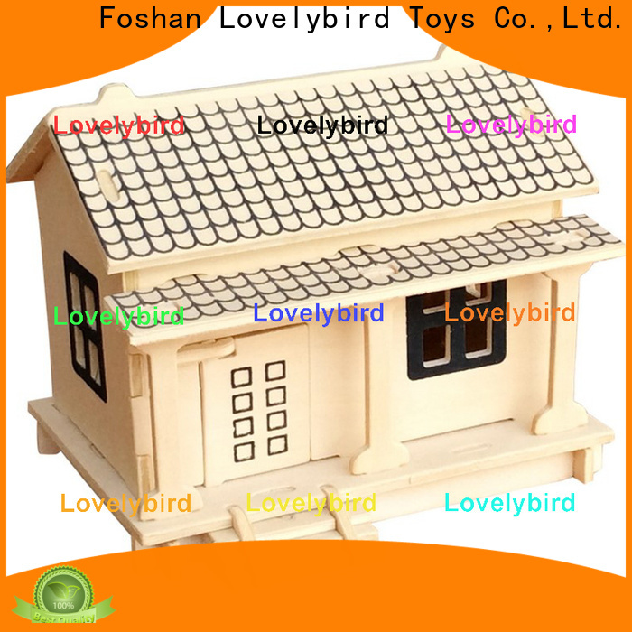 Lovelybird Toys top 3d wooden puzzle house company for kids