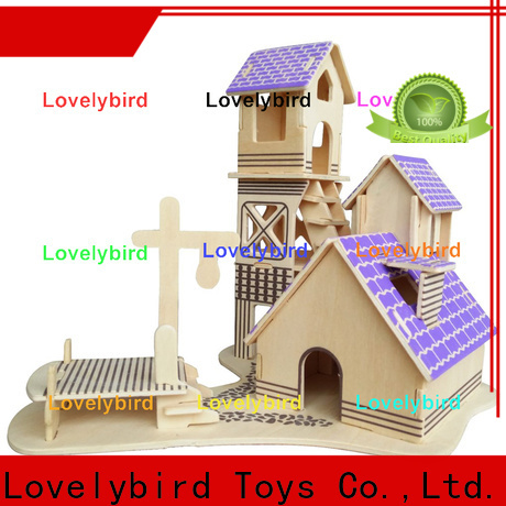 Lovelybird Toys best 3d wooden puzzle house suppliers for business
