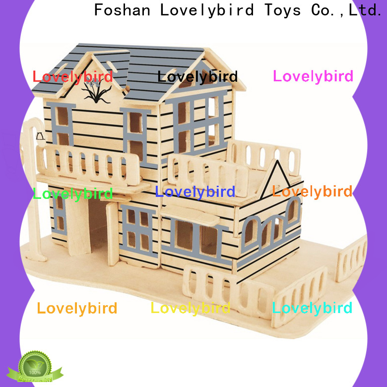 latest 3d wooden house puzzles suppliers for adults