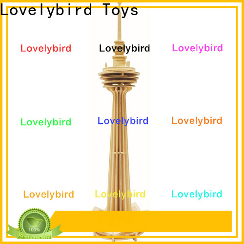 Lovelybird Toys top 3d wooden house puzzles factory for adults