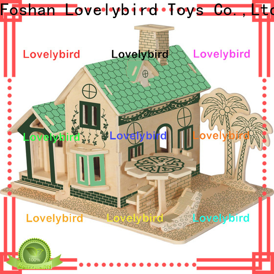 Lovelybird Toys 3d building puzzle manufacturers for adults
