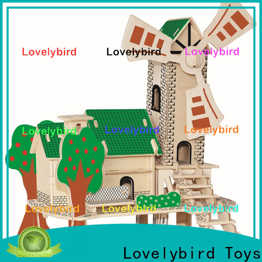 Lovelybird Toys best 3d wooden puzzle house company for adults