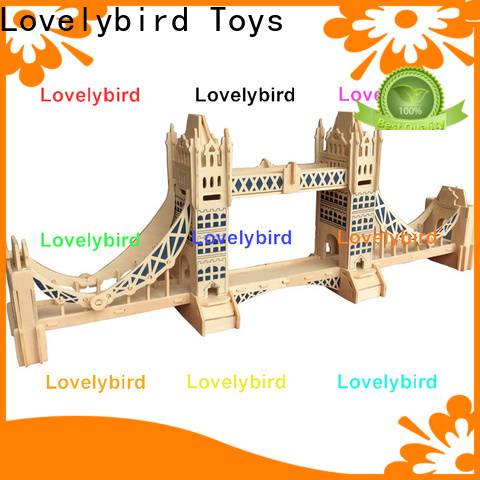 hot sale 3d wooden puzzle house manufacturers for business