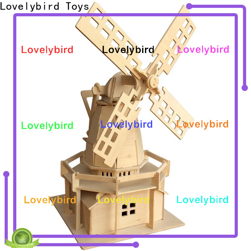 Lovelybird Toys high-quality 3d wooden puzzle house company for adults