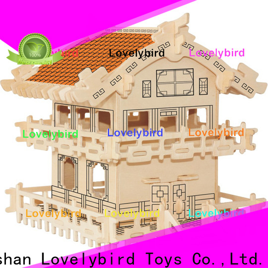 Lovelybird Toys 3d building puzzle supply for kids