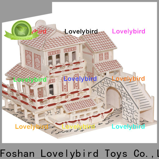 Lovelybird Toys best 3d wooden puzzle house manufacturers for business