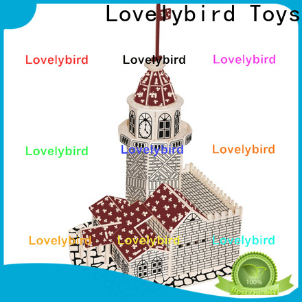 Lovelybird Toys new 3d wooden puzzle house company for sale